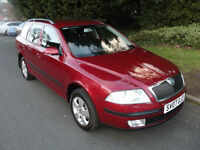 SKODA OCTAVIA 1.9TDI PD 4x4 2007 WITH NEW MOT & FULL HISTORY, LOVELY CAR