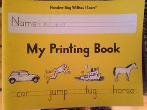 Handwriting Without Tears® booklet