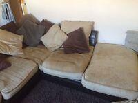 Lovely cosy deep corner sofa