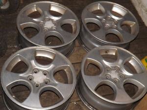 Subaru Mag Wheels 16 Inch