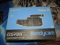 sony video 8 camcorder.