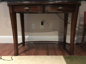 Walnut Console/Hall/Writing Table
