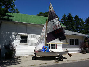 11ft Sailboat and Beach- dolly