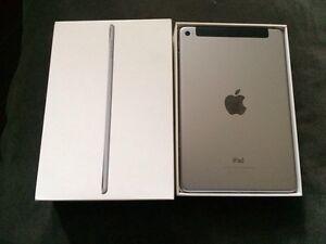 iPad mini 4th gen. 64gb. Wifi + Cellular. 10/10!! Box + Charger.