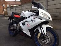Aprilia rs 125 full mot arrow exhaust