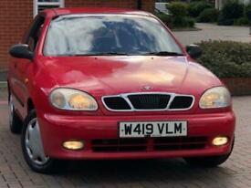 image for 2000 Daewoo Lanos 1.6 SX 3dr Hatchback Petrol Manual