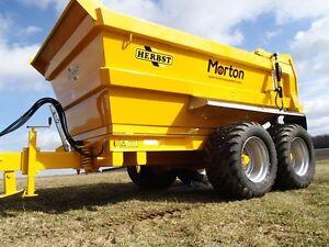 heavy duty tractor dump trailer
