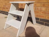 Step Ladder - wooden - foldable
