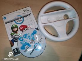 SOLD Mario Kart Wii with Steering Wheel