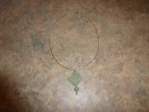 Light Green Jade Necklace