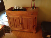 Dry Sink/Cabinet