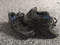 Black and Blue Nike air max kids size 11