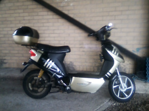 Need someone to work on my scooter.  :(
