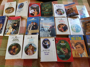Lot of 20 romance novels