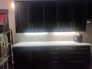 KITCHEN CABINETS, COUNTER TOPS & SINKS