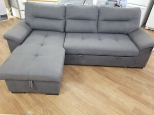 EVERETT CONVERTIBLE SOFA WITH CHAISE