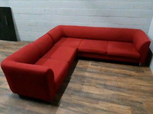 Free delivery: EQ3  3 Piece Sectional