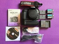 Canon EOS 40D (body only) + Battery Grip + 2 Batteries. The best condition you can find.