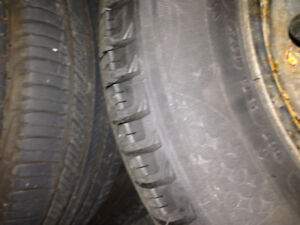 Selling 4 winter tires, 15 inch steels