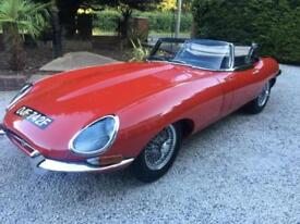 Jaguar E-Type roadster series 1.5 RHD