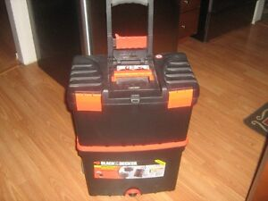 New 2pc Black & Decker Workmate pull Toolbox