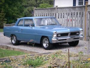 1967 Pontiac Acadian /Nova V8 (327 - 3 Speed Automatic)