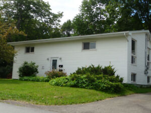In Antigonish 3 bedroom apt 5 minute walk to StFx and downtown