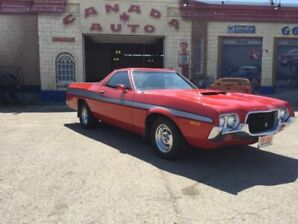 1972 Ford Ranchero GT - 351 Cleveland 4 Speed Standard - Private