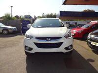 Hyundai IX35 SE 1.7 CRDi 2WD (white) 2013