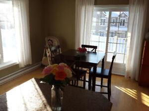 Chambres à louer dans un magnifique 4 1/2 style condo à partager