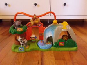 Zoo Little People sound fisher price complet