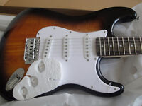 SQUIER AFFINITY STRAT GUITAR + FRONTMAN 10G AMP PACKAGE $285