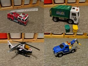 Set of Four Tonka Vehicles