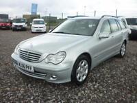 Mercedes C230 ELEGANCE 2.5 SE Estate ,FREE 15 MONTHS WARRANTY,