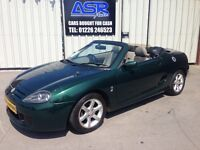 52 MG TF 1.8 Convertible - MOT October - Only 84,000 Miles - 1/2 Leather - Alloys - PX WELCOME