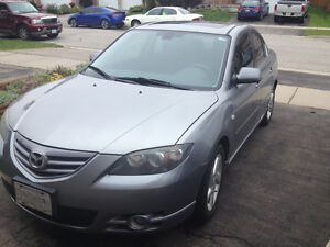 2006 Mazda 3 Sedan with Sunroof