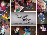 $475.00 The Alpha & Omega Home Child Care & Learning Centre.