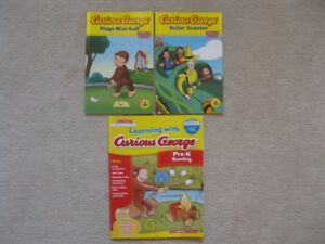 Curious George Books Plus Activity Book