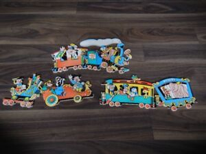 *Vintage* 1950/60s 3 peice Mickey Mouse  Train Wall Art