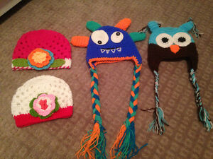 NEW!! Baby/kids hats, ties, bibs and more!