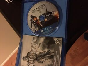 Battlefield ps4 game
