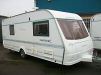 Coachman pastiche 540/4 fixed bed