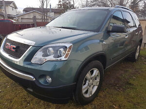 GMC Acadia SLT SUV, 7 seater Remote start DVD player