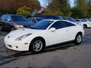 2000 Toyota Celica GT Coupe *5 SPEED MANUAL, SUNROOF, Power Opt*