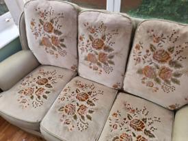 Green Flowery Sofa - free!