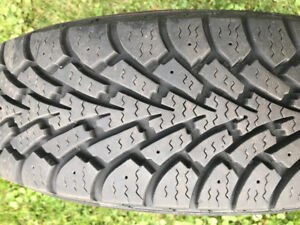 REDUCED 14 Inch Goodyear Nordic Winter Tires