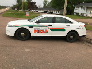 Borden pizza in PEI now hiring accommodation  included