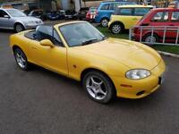 Mazda MX-5 1.6i Arizona CONVERTIBLE - 2002 52-REG - FULL 12 MONTHS MOT