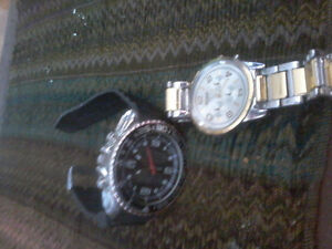 I want watches nice  name brand only bulova whatever white watch