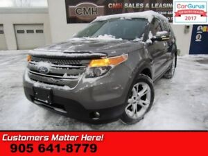 2011 Ford Explorer Limited  4X4, LEATHER, SUNROOF, HEATED SEATS,